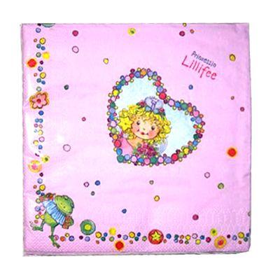 Prinsessan Lillifee födelsedagsservetter