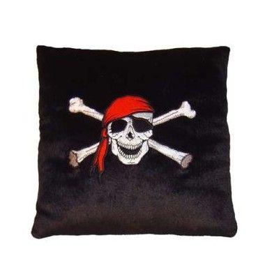 Minikudde med pirat