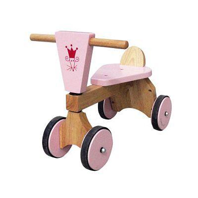 Gåcykel - rosa