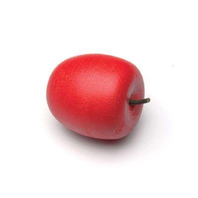Leksaksmat - Äpple i trä, rött