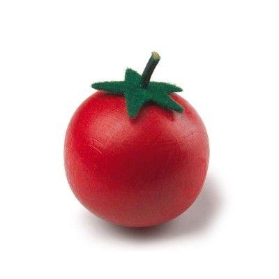 Leksaksmat - Tomat i trä