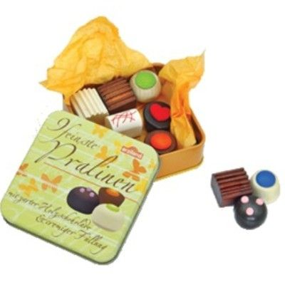 Leksaksmat - Chokladpraliner i plåtask