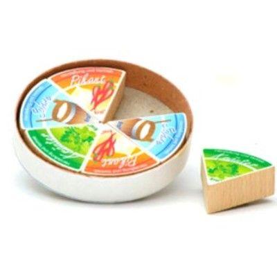 Leksaksmat - Mjukost i trä - 6 bitar