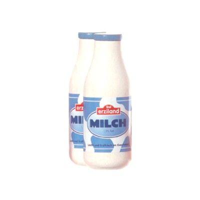Leksaksmat - Mjölkflaska i trä