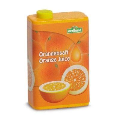Leksaksmat - Juiceförpackning - Apelsin