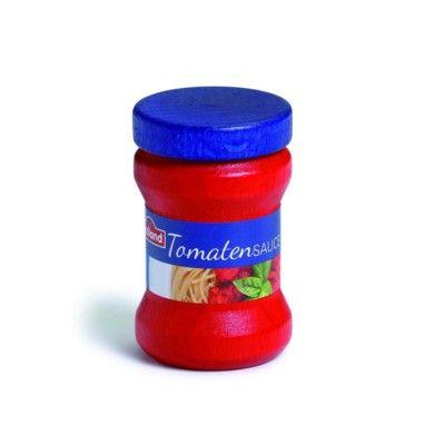 Leksaksmat - Tomatsås i trä