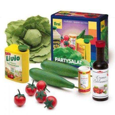 Leksaksmat - Salladsset med olja & balsamvinäger