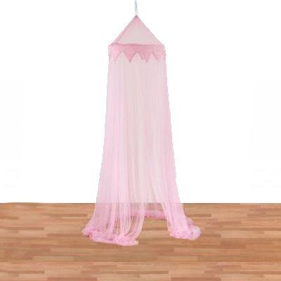 Sänghimmel - rosa