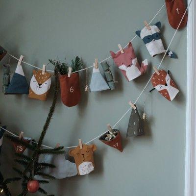 Adventskalender - Woodland Christmas Calendar - Fabelab