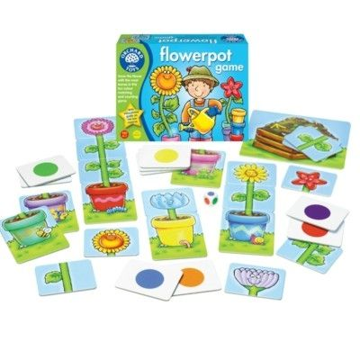 Spel - Blomkrukspel - Orchard Toys