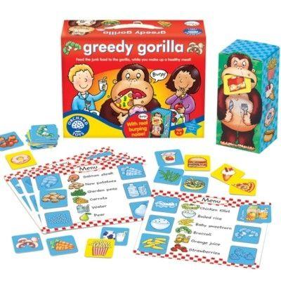 Spel - Glupska gorillan