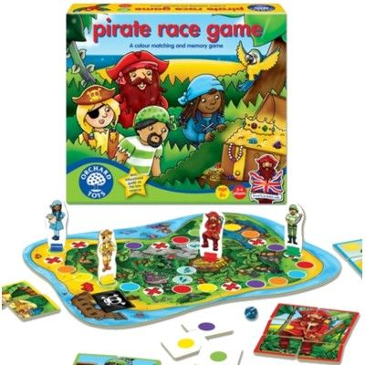 Spel - Pirater - memory - Orchard Toys