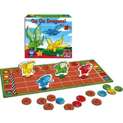 Spel - Drakkapplöpning - Orchard Toys