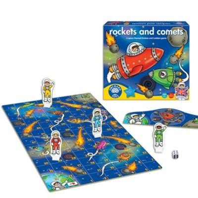 Spel - Raketer och kometer - Orchard Toys