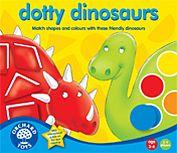 Spel - Tossiga dinosaurier - Orchard Toys
