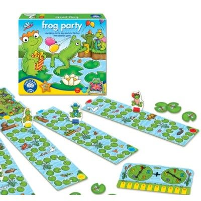 Spel - Grodornas kalas - Orchard Toys