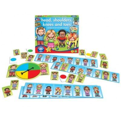 Spel - Huvud, axlar, knä och tå - Orchard Toys