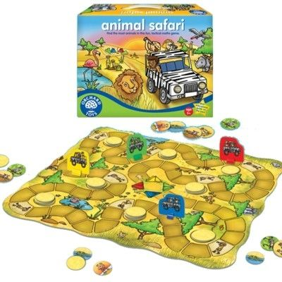 Spel - Djursafari - Orchard Toys