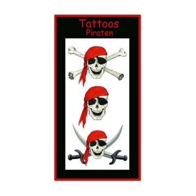 Tatuering - Pirat