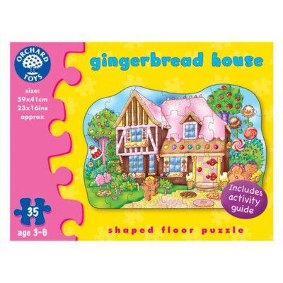 Golvpussel - pepparkakshus - 35 bitar - Orchard Toys
