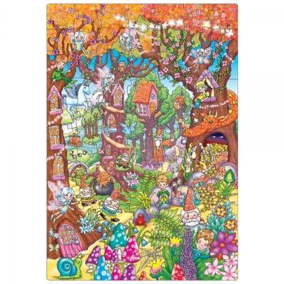 Pussel - Den förtrollade skogen - magiskt  Orchard Toys