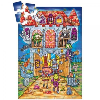 Pussel - Spökslottet - magiskt - Orchard Toys