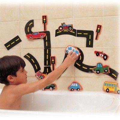 Badlek - bilar och vägbana