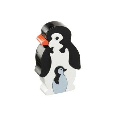 Pussel - Pingvinmamma med barn (Fair Trade) - Lanka Kade