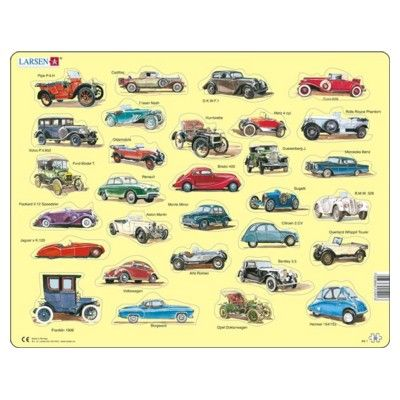 Pussel - Klassiska bilar