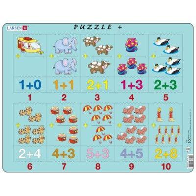 Pussel - Lär dig räkna (puzzle +)