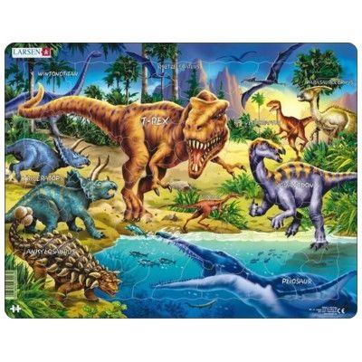 Pussel - dinosaurier - 57 bitar