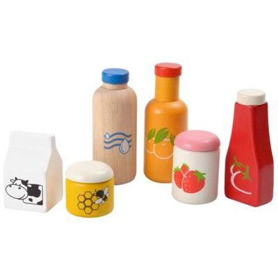 Leksaksmat - Basvaror till leksaksköket - ekologisk från PlanToys
