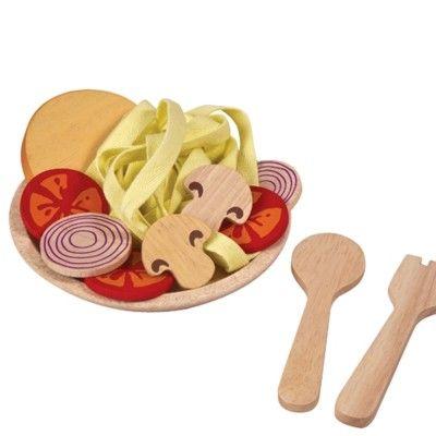 Leksaksmat - Spaghetti-måltid - ekologisk från PlanToys