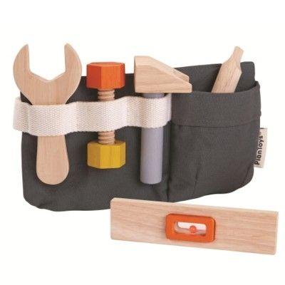 Snickarbälte med verktyg - PlanToys