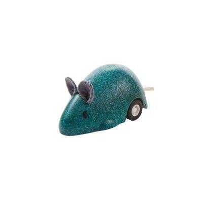 Leksaksbil - mus - petroleum - ekologisk från PlanToys