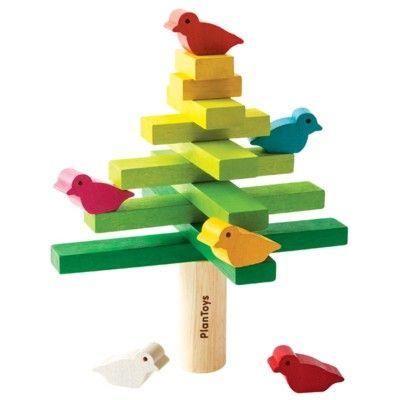 Balansspel med träd - ekologisk från PlanToys