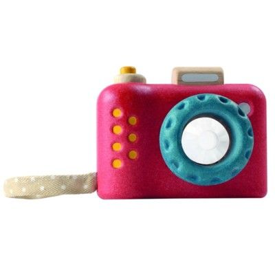 Min första kamera - prisma - röd - ekologisk från PlanToys