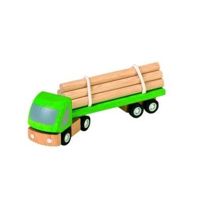 Timmerbil i trä - ekologisk från PlanToys