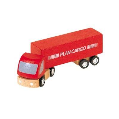 Lastbil i trä - ekologisk från PlanToys