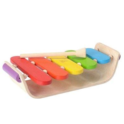 Xylofon i trä - ekologisk från PlanToys