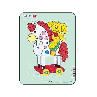 Pussel - mini - häst på hjul