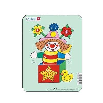 Pussel - mini - rolig clown