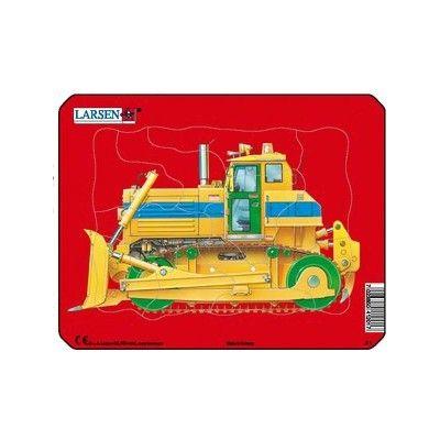 Pussel - mini - bulldozer