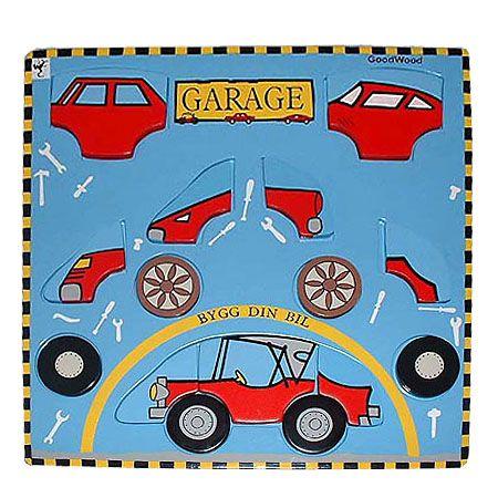 Pussel - bygg din egen bil