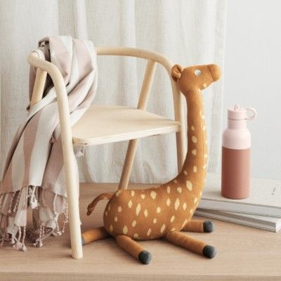 Gosedjur - Gitte giraffe - mustard- ekologisk från Liewood