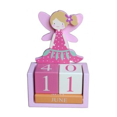 Kalender i trä - Fairy