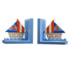 Bokstöd - Båtar