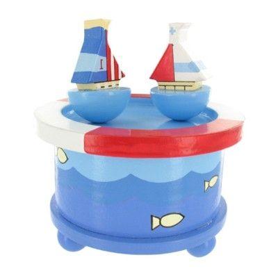 Speldosa - båtar