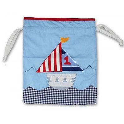 Tygpåse - Båtar