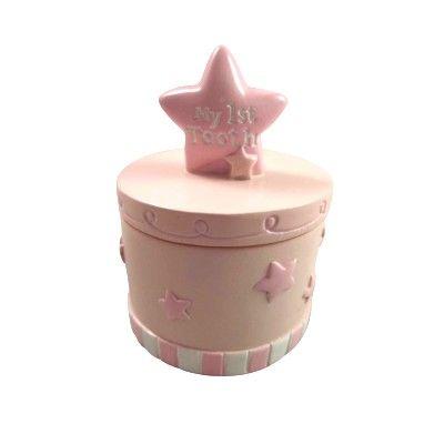 Tandask - rosa med stjärnor